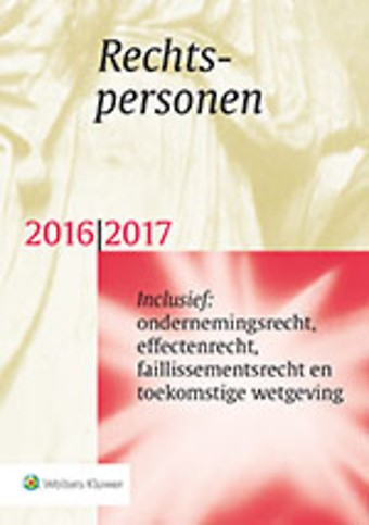 Rechtspersonen 2016/2017