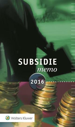 Subsidiememo 2016