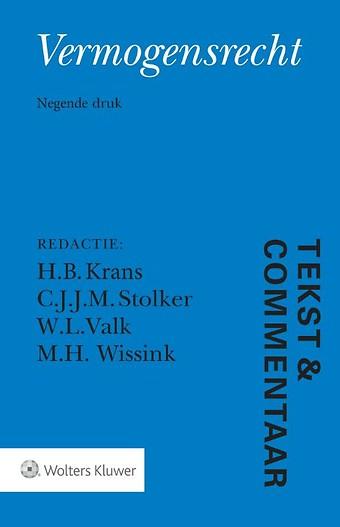 Tekst & Commentaar: Vermogensrecht