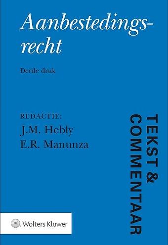 Tekst & Commentaar: Aanbestedingsrecht