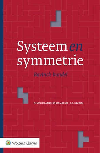 Systeem en symmetrie - Bavinck bundel