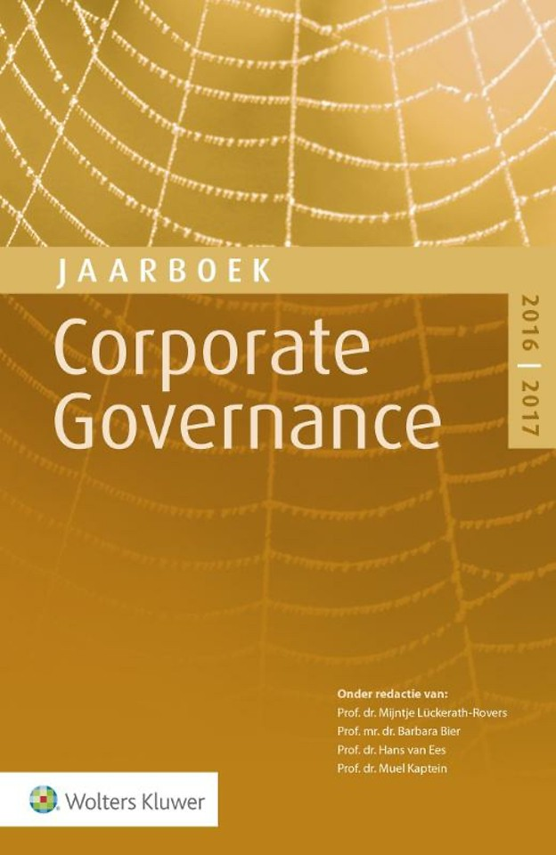 Jaarboek Corporate Governance 2016-2017