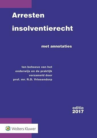 Arresten insolventierecht - editie 2017
