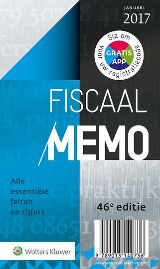 Fiscaal Memo 2017-1