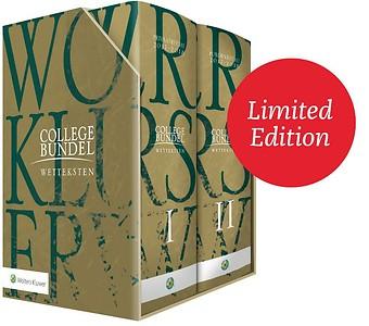 Wolters Kluwer Collegebundel Limited Edition 2017-2018