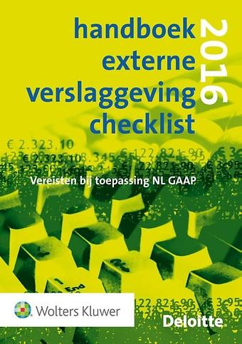 Handboek Externe Verslaggeving Checklist 2016