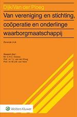 Van vereniging en stichting, coöperatie en onderlinge waarborgmaatschappij