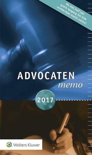 Advocatenmemo 2017