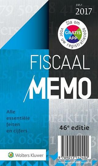 Fiscaal Memo juli 2017-2