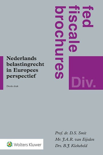 Nederlands belastingrecht in Europees perspectief