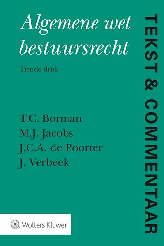 Tekst & Commentaar: Algemene wet bestuursrecht