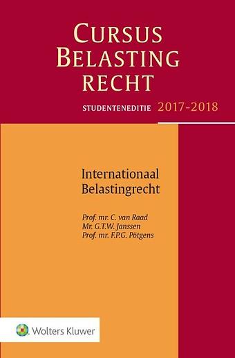 Studenteneditie Cursus Belastingrecht, Internationaal Belastingrecht 2017-2018