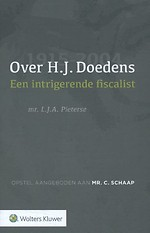 Over H.J. Doedens - Een intrigerende fiscalist