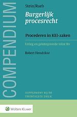 Compendium Burgerlijk procesrecht - Procederen in KEI-zaken