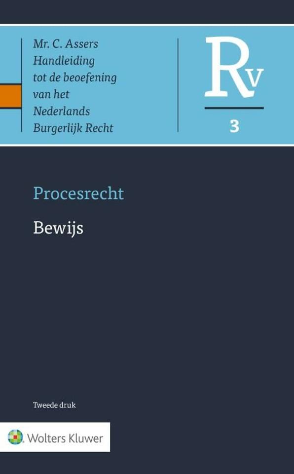 Asser Procesrecht 3 - Bewijs