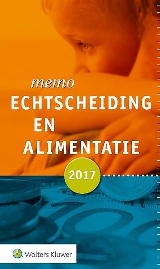 Memo Echtscheiding en alimentatie 2017