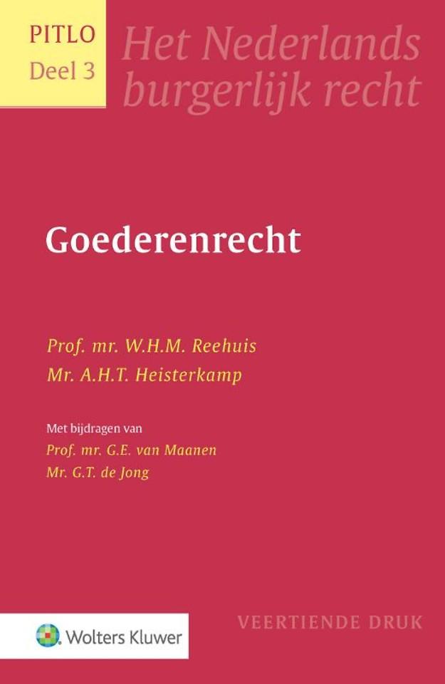 Goederenrecht - Het Nederlands burgerlijk recht deel 3 (Pitlo)