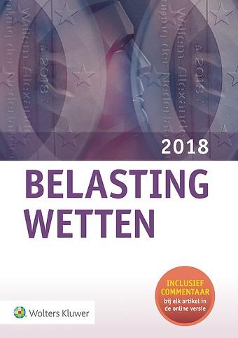 Belastingwetten 2018 - pocketeditie