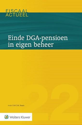 Einde DGA-pensioen in eigen beheer