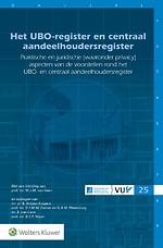 Het UBO-register en centraal aandeelhoudersregister