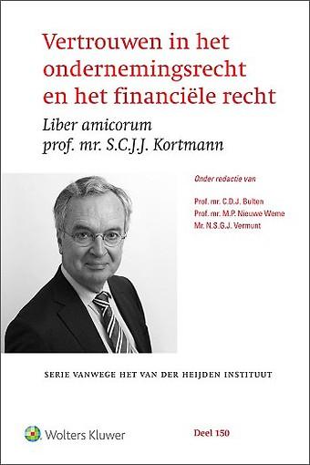 Vertrouwen in het ondernemingsrecht en het financiële recht