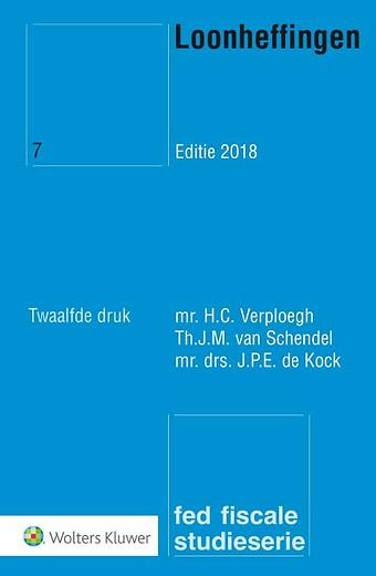 Loonheffingen Editie 2018