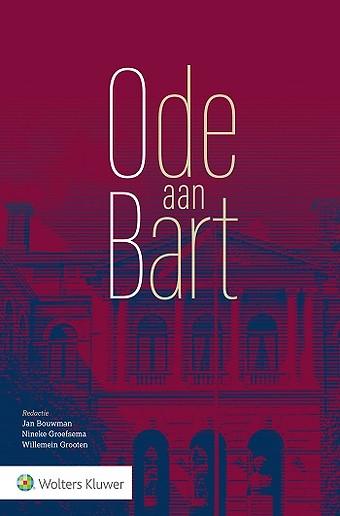 Ode aan Bart - Van Zadelhoff-bundel