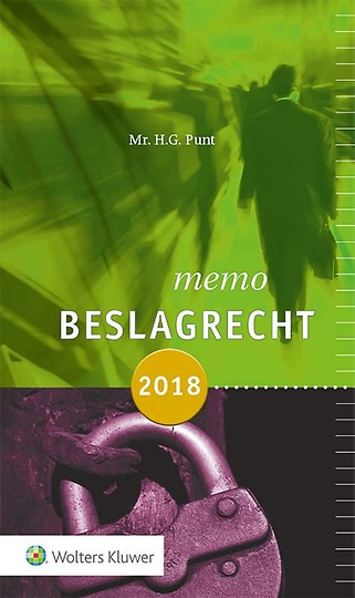 Memo Beslagrecht 2018