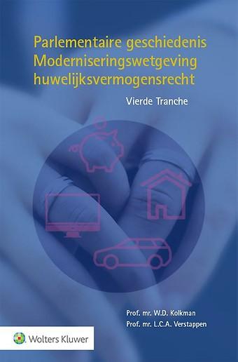 Parlementaire geschiedenis Moderniseringswetgeving huwelijksvermogensrecht