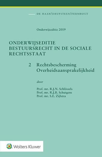 Onderwijseditie Bestuursrecht in de sociale rechtsstaat, band 2