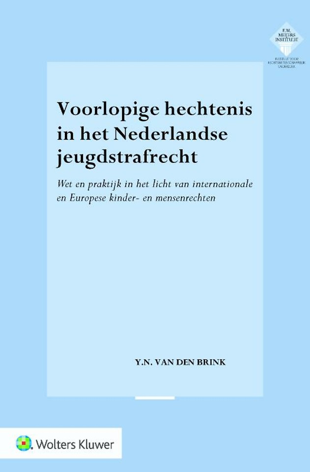 Voorlopige hechtenis in het Nederlandse jeugdstrafrecht