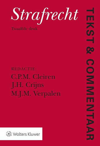 Tekst & Commentaar: Strafrecht