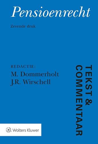 Tekst & Commentaar: Pensioenrecht