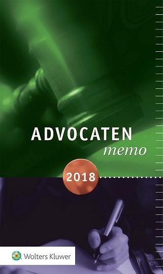 Advocatenmemo 2018