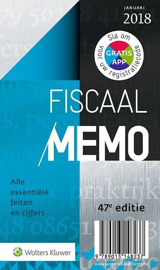 Fiscaal Memo 2018-1