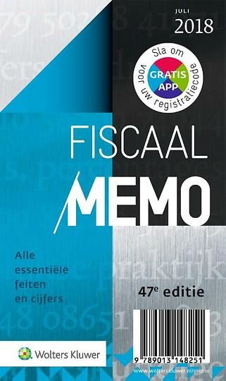 Fiscaal Memo juli 2018
