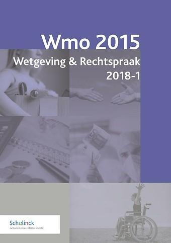 Wmo 2015 Wetgeving & Rechtspraak 2018-1