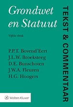 Tekst & Commentaar: Grondwet en Statuut