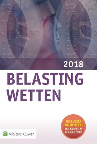 Belastingwetten 2018 - gebonden editie
