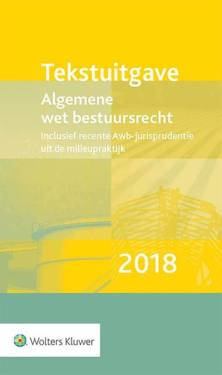 Tekstuitgave Algemene wet bestuursrecht 2018