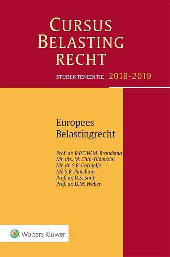 Studenteneditie Cursus Belastingrecht, Europees Belastingrecht 2018-2019