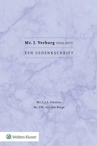 Mr. J. Verburg (1924-2017). Een gedenkschrift