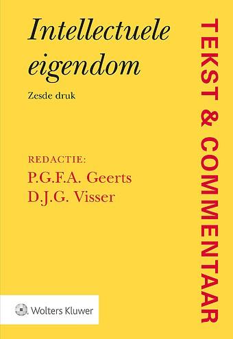 Tekst & Commentaar: Intellectuele eigendom