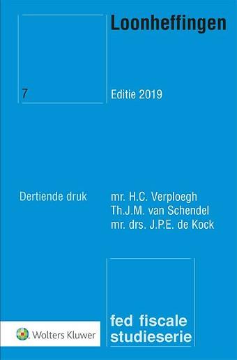 Loonheffingen Editie 2019