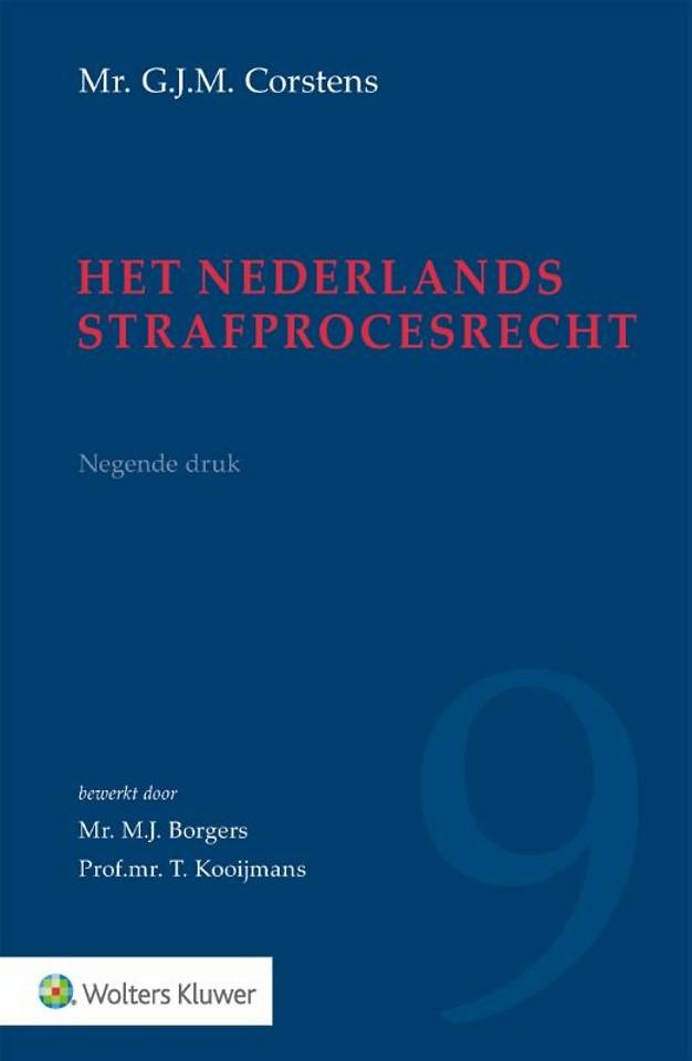 Het Nederlands strafprocesrecht
