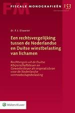 Een rechtsvergelijking tussen de Nederlandse en Duitse winstbelasting van lichamen