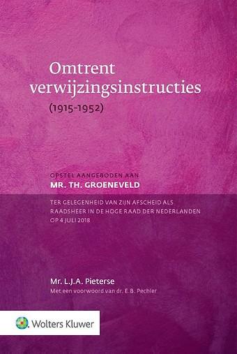 Omtrent verwijzingsinstructies (1915-1952)