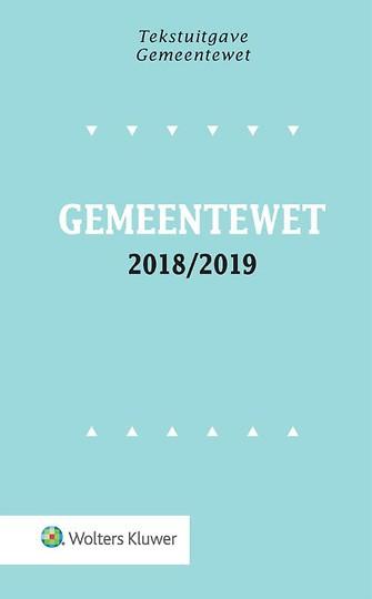 Tekstuitgave Gemeentewet 2018-2019