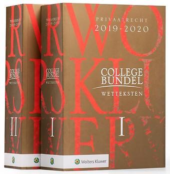Wolters Kluwer Collegebundel 2019-2020