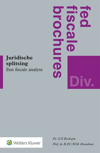 Juridische splitsing